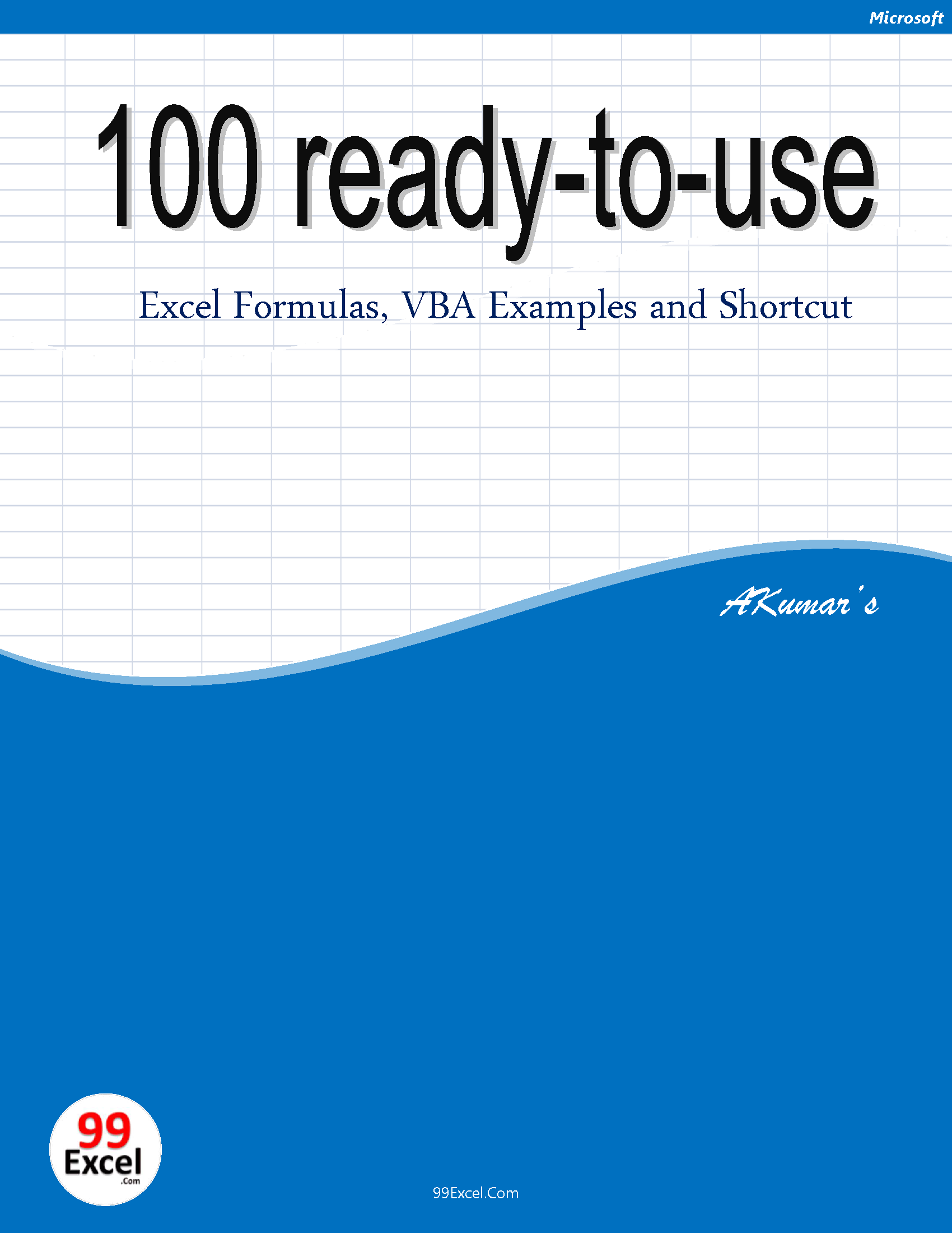 buy excel books 99excel com